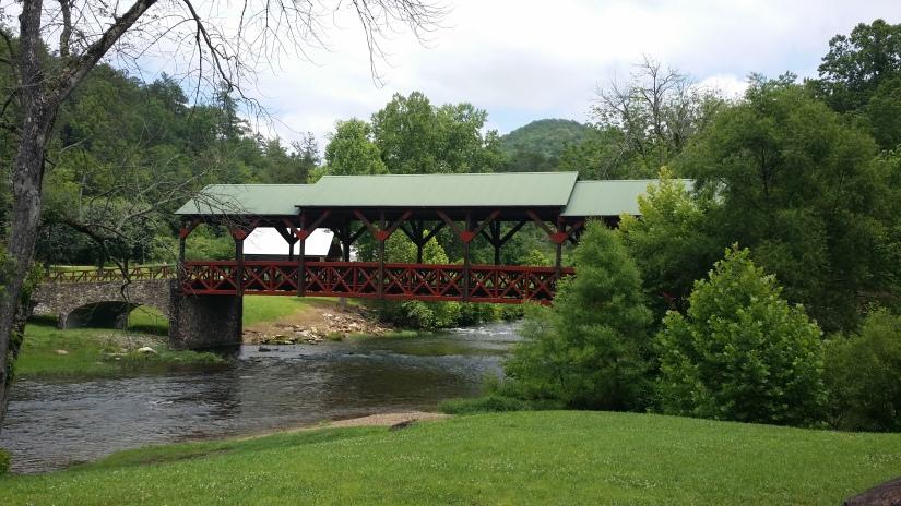 Covered Bridge Tellico river
